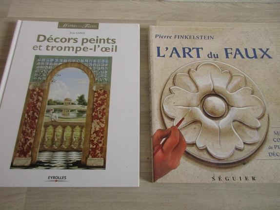 Mes livres références en peinture : couleurs, compositions, inspirations.